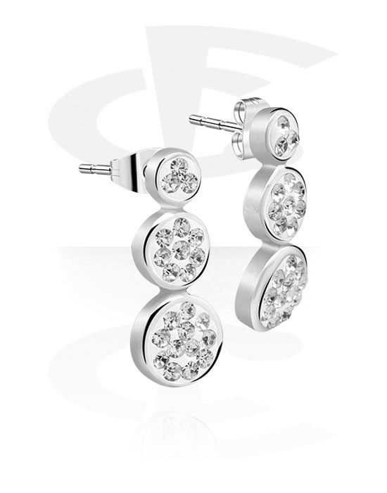 Øredobber, Ear Studs, Surgical Steel 316L