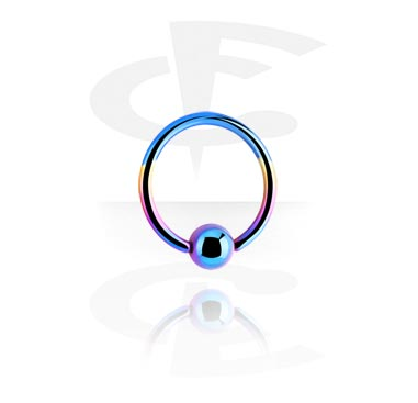 Anodized Ball Closure Ring