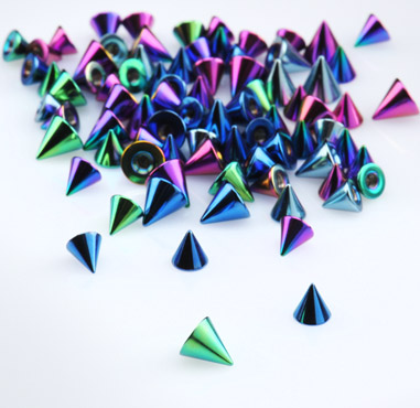 Anodised Cones for 1.6mm Pins
