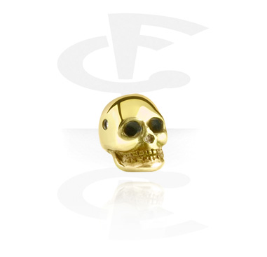 Anodized Skull for Ball Closure Rings