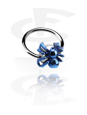 Ball Closure Ring con Anodised Spider