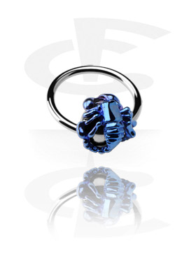 Ball Closure Ring com Anodised Scorpion