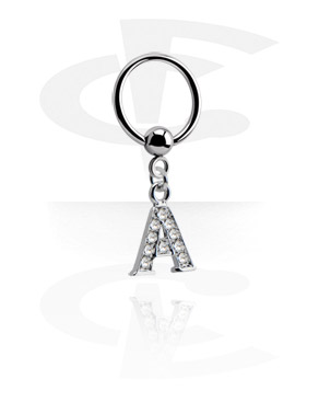 Ball Closure Ring com pendente
