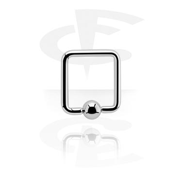 Square Ball Closure Ring