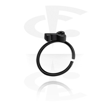 Black Continuous Ring