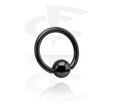 Ball closure Anello nero