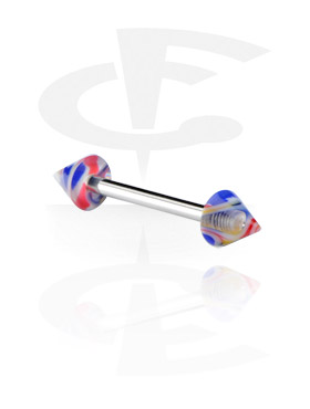 Barbell con Jaw Breaker Cones