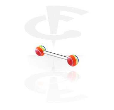 Barbell met Pop Layer Balls