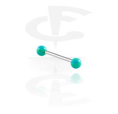 Barbell with Psychadelic Balls