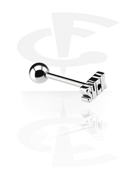 Barbell com Steel Cast Attachment