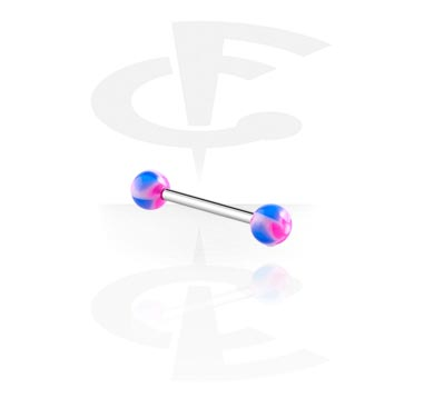 Barbell with New Twister Flower Balls