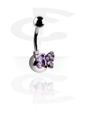 Anodized Curved Barbell - Butterfly
