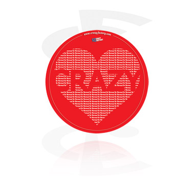 Crazy Factory Sticker