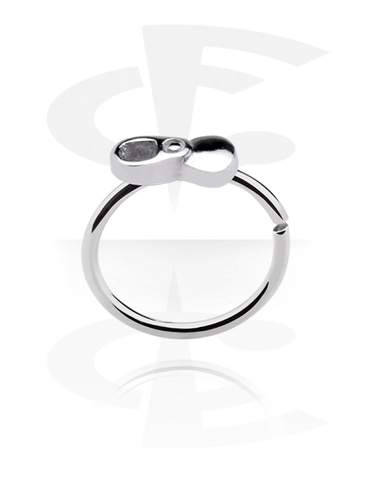 Renkaat, Continuous ring, Surgical Steel 316L