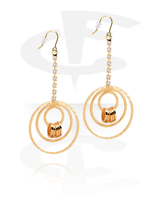 Korvakorut, Earrings, Gold Plated Surgical Steel 316L