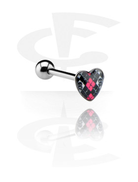 Heart Picture Barbell