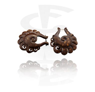 Large Tribal Coco Earrings (Sold by pair)