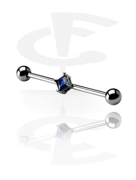 Jeweled Industrial Barbell