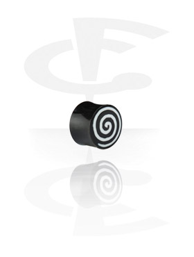 Plain y Inlaid Plug