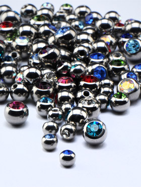 Jeweled Balls for 1.6mm Pins