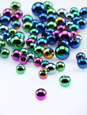 Anodised Micro Balls for 1.2mm Pins