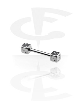 Micro Barbell con Two Sided  Dice
