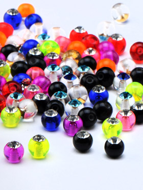 Jeweled Micro Balls for 1.2mm Pins