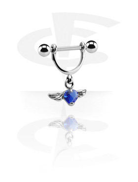 Nipple Stirrup with Charm
