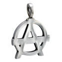 Zawieszki, Pendant z Anarchy Design, Pewter