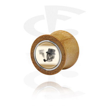 Double Flared Plug with Steel Inlay