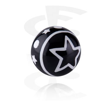 Threaded Ball - Star