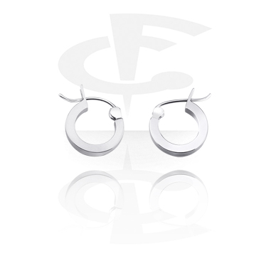 Square Ear Hoops