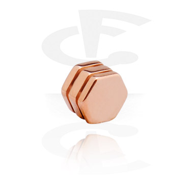 Attachment for 1.6 mm pins<br/>[Surgical Steel/Rosegold]