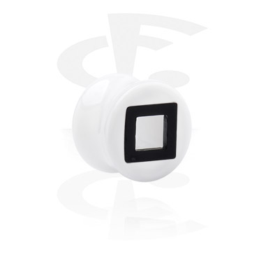 Flared Plug with Square Cut-Out