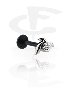 Internal Labret con Jeweled Steel Cast Attachment