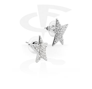 Ear Studs<br/>[Plated Steel]